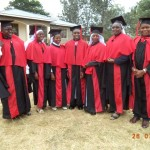 All are religious from different Community in Tanzania-Graduarating
